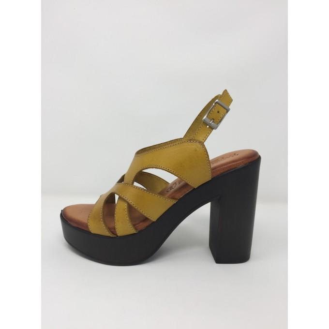 Alto Pelle Colori Sottopiede 12cm Memory Perez Disponibile Raquel Gel 3 Sandalo Tacco In E2W9IDHY