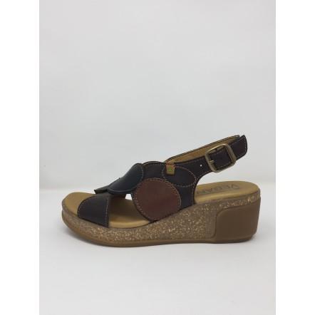 Vegan el naturalista sandalo zeppa comodo disponibile in 2 colori