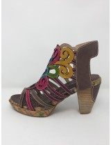 Laura vita sandalo multicolor tacco 9