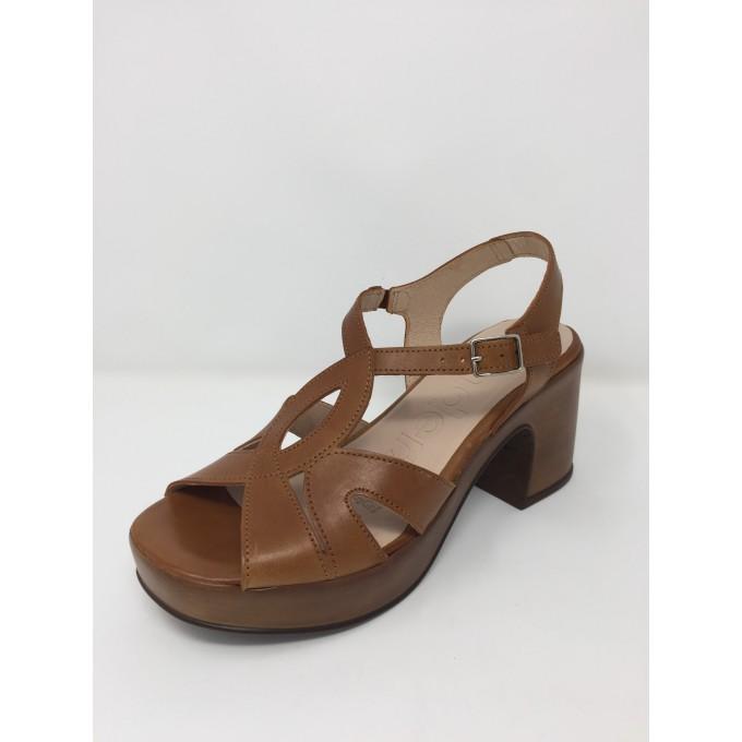 Wonders sandalo pelle tacco 8 comodissimo