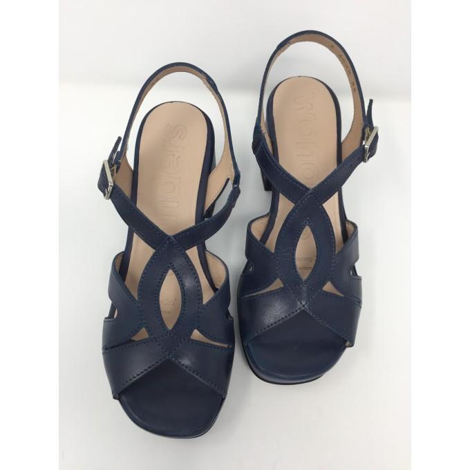 Disponibile Sandalo Colori In 8 4 Comodissimo Wonders Pelle Tacco D29HIWE