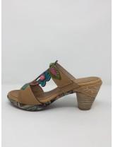 Laura vita sandalo multicolor tacco 8
