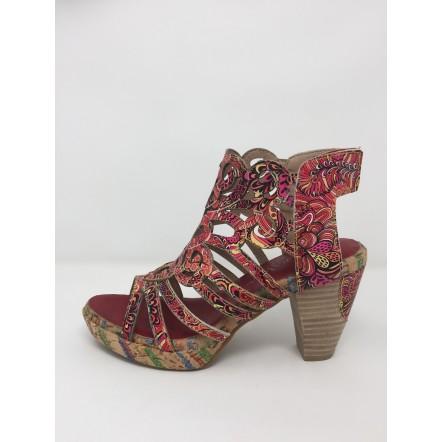 Laura vita sandalo multicolor tacco 8 disponibile in 2 colori