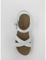 Sandalo Zeppa Incrociato