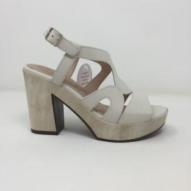Wonders sandalo pelle tacco 10 comodo disponibile in 3 colori