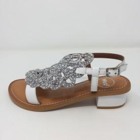 Woz Sandalo Stile Positano Tacco Tacco 4