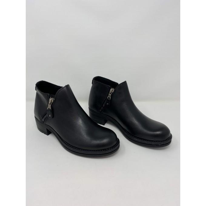 Deky Shoes Polacchina Pelle Doppia Zip