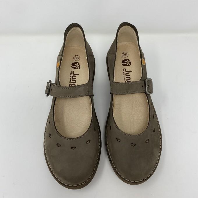Jungla scarpa comoda in nabuk disponibile in due colori