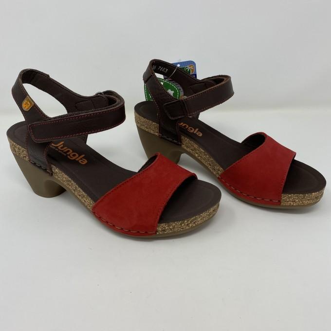 Jungla sandalo comodo tacco 7,5 disponibile in due colori