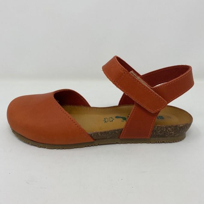 Sandalo Bionatura basso con punta chiusa