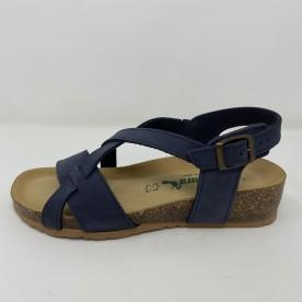 Sandalo Bionatura basso con cinturini