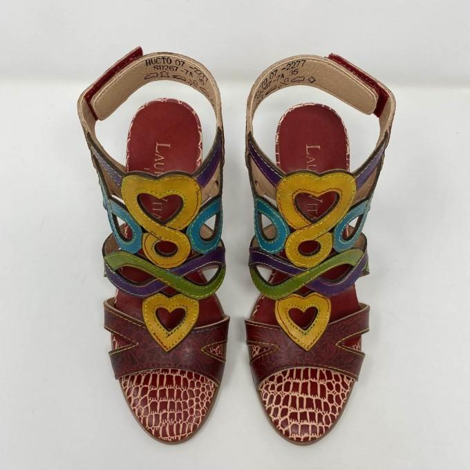 Sandalo Laura Vita Originale Multicolor Tacco 8