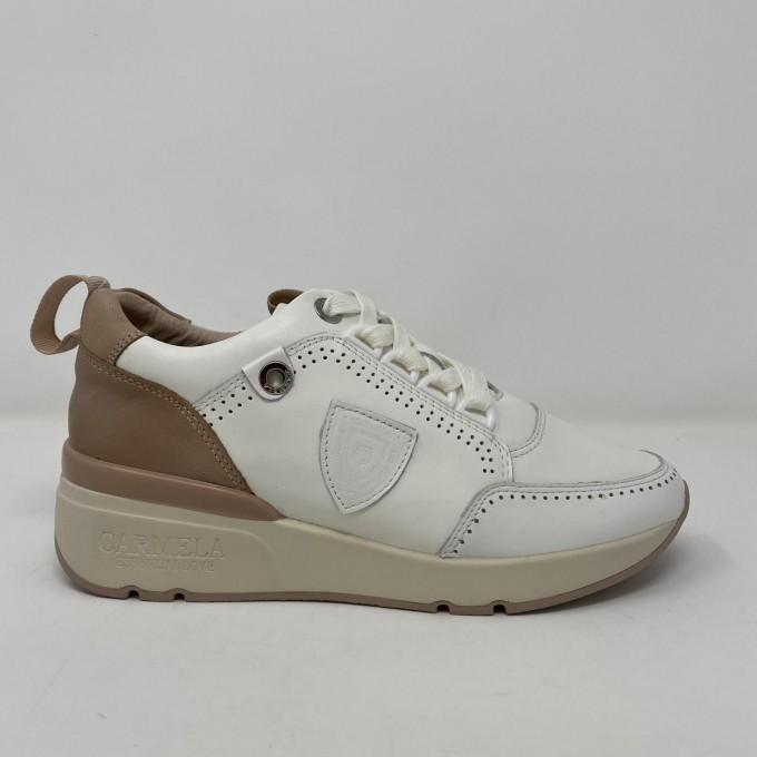 Carmela sneaker pelle tacco 5cm disponibile in due colori