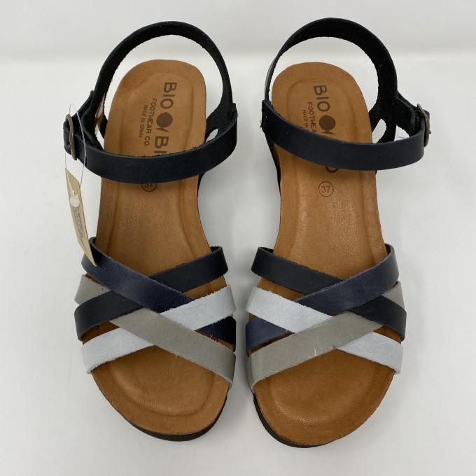 BioBio sandalo in pelle comodo, leggero e colorato