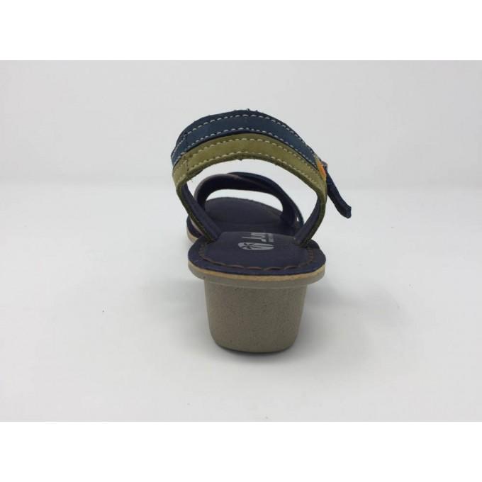 Sandalo Incrociato Zeppa