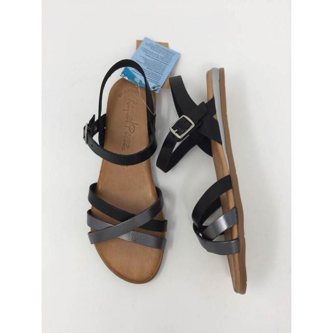 Sandalo multicolor basso