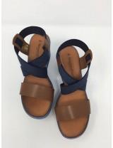 Sandalo Zeppa Jeans