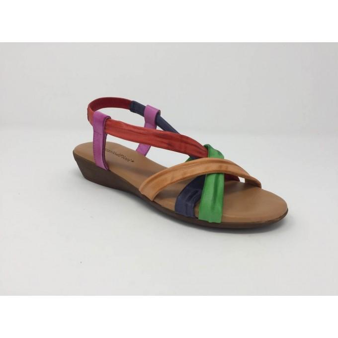Sandalo Fasce Multi