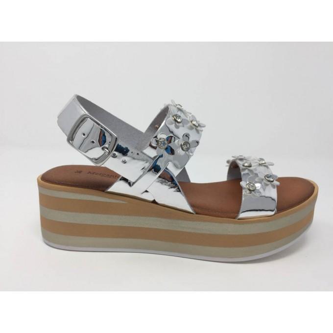 Sandalo Zeppa Fiorellini