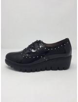 Wonders scarpa stringata Lucida suola leggera tacco 5