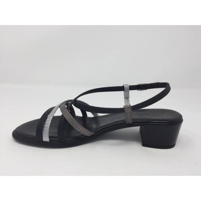 Sandalo cinturino multicolor