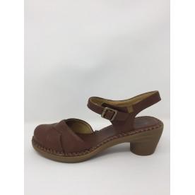 VEGAN El Naturalista sandalo punta chiusa tacco 6 cm disponibile in 2 colori